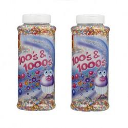 100's & 1000's 백엔천 (레인보우빵) x 2